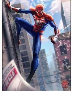 Something Marvel? Image Spiderman, All Spiderman, Amazing Spiderman, Marvel Comics Art, Marvel Heroes, Marvel Avengers, Marvel Girls, Spider Man Ps4 Game, Marvel Entertainment