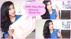 1000 Subscribers Giveaway (OPEN) + Thank You ♥ | International