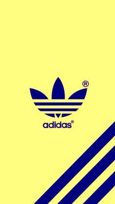 Cool Adidas Wallpapers, Adidas Iphone Wallpaper, Adidas Backgrounds, Phone Wallpaper Design, Cute Wallpaper For Phone, Sports Wallpapers, Colorful Wallpaper, Adidas Drawing, Rose Gold Adidas