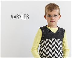 Varyler from Knits for Little Scamps 1 - an 11 pattern ebook of kids knits / På dansk i bogen Strik til Banditter