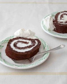 Chocolate-Rum Roulade ... SOURCE: MARTHA BAKES