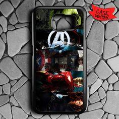 Avenger Team Samsung Galaxy S7 Black Case