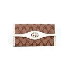 Gucci Women Beige Wallet 282426 9761:$125.6 - Gucci Bags Australia Online Gucci Outlet Online, Gucci Men, Gucci Bags, Travel Bags, Continental Wallet, Beige, Accessories
