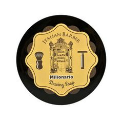 Italian Barber Milionario Shaving Soap