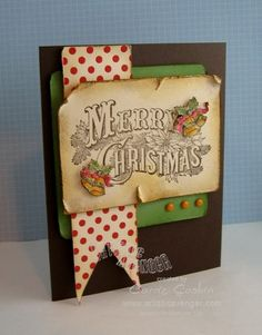 Grunged Merry Christmas Card...