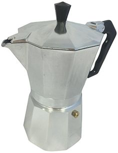 Eppicotispai Buon Caffe Aluminum 9-Cup Moka Stovetop Espresso Maker