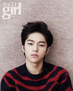INFINITE's  L Vogue Girl Korea If I could shower with this soapy.