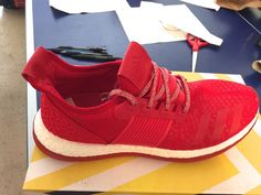 080ce802dc56 adidas Pureboost ZG Men s Running Shoes Sz.11.5 US Red NWOB for sale online