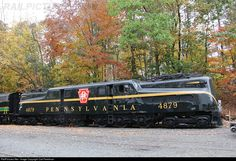 RailPictures.Net Photo: PRR 4879 Pennsylvania Railroad GG-1 at Boonton, New Jersey by Carl Perelman
