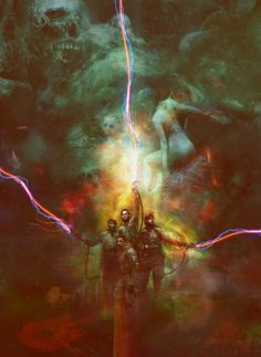 The art of Christopher Shy.Geeky Nerfherder