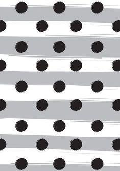Shop Chloe PurR's store featuring unique designs on various products across art prints, tech accessories, apparels, and home decor goods. Cute Wallpapers, Wallpaper Backgrounds, Iphone Wallpaper, Mobile Wallpaper, Polka Dot Art, Polka Dots, Preto Wallpaper, Black Dots, Black White
