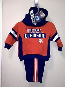 CLEMSON TIGERS TODDLER OUTFIT NWT!!! (2) 12 MO. 2 PIECE SETS!!!!! EBAY $14.99