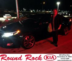 Congratulations to Kellie Hackworth on your #Kia #Optima purchase from Bobby Nestler at Round Rock Kia! #NewCar