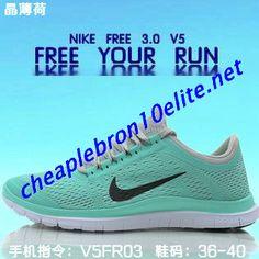 Light Green Nike Free 3.0 V5 Mens Grey
