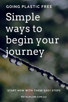 simple ways to begin