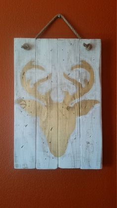 Rustic handmade and hand painted wall by RustyBarrelCreations