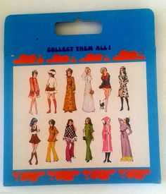 1970's Boxed Miss Angie Doll Clothes to Fit 6 1 2 inch Pippa Dawn Topper 8 | eBay
