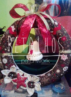 Ref.: CR_NT_02 Coroa de Natal / #Christmas Handmade