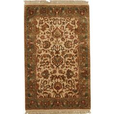 Hand Knotted Flat Weave Rug