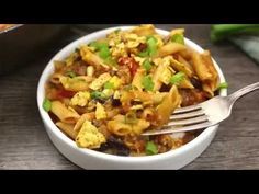 20 Minute Taco Pasta is such an easy one pot recipe. This tasty dinner is made in one skillet with ground beef and Barilla Pronto Penne Pasta.