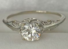 how do i love thee: : bliss : antique wedding rings