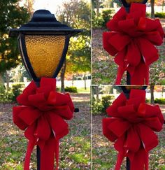 Outdoor Christmas Decorations For A Holiday Spirit  Family Holiday