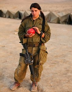 israeli+woman | Beautiful Female Soldiers of Israeli Defence Forces ~ Global Military ...