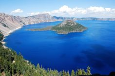 Crater Lake is known to be the deepest lake in the United States and the seventh deepest in the world. The maximum lake depth of 589 m (1,932 ft)