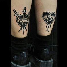 Image result for above knee tattoo #HotTattoos