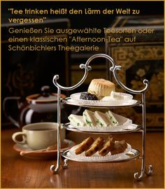 Theehandlung Schoenbichler - fine #teas and much more and in the #Thesalon you can try all the teas together with delicous food.