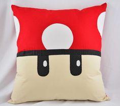 Eu Amo Artesanato: Almofadas Mario Bros., Decorative Cushions, Pillow Set, Diaper Bag, Kids Room, Throw Pillows, Bed, Crafts, Parties