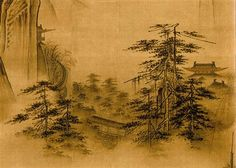 Dancing and Singing (Peasants Returning from Work) (detail 1) - Ma Yuan - Southern Song Dynasty (Shan shui)