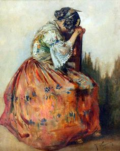 Spanish Woman, Spanish Art, Love Art, Art History, Painting, Murcia, Costumes, Skirt, Google Search