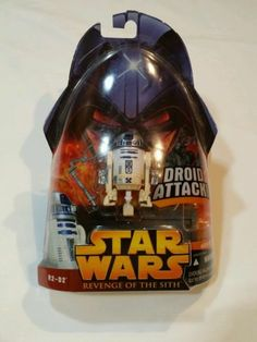 Hasbro Revenge of the Sith - R2-D2 Droid Attack Action Figure.  Like this? Want something special that nobody else has? Find more incredible, unique often one of a kind GR8 stuff here! http://www.ebay.com/usr/lotstasell   World Wide and expedited or express shipping is always available! Happy Holidays!