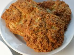 Almond Flour Onion cheddar biscuit - paleo, gluten free, grain free