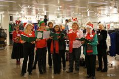 #FBCCIxmas - the International Players Choir group - Nothing like a good christmas carol to get you in the festive mood