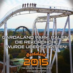 AMUSEMENT ATTRACTION! ALL NEW COASTER! Oblivion The Black Hole Roller Coaster POV Gardaland Italy 2015 B&M Dive Machine | Jerry's Hollywoodland Amusement And Trailer Park