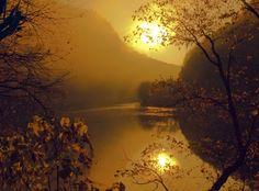 Delaware River Sunrise | by Bob Jagendorf ~On Golden Pond~