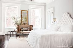Home Tour: A Legendary New York Townhouse via @domainehome