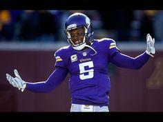Teddy Bridgewater 2015-2016 season highlights Teddy Bridgewater, Vikings Season, Vikings Qb,