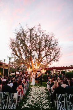 Photography: Heather Kincaid - heatherkincaid.com  Read More: http://www.stylemepretty.com/little-black-book-blog/2014/06/25/modern-elegant-wedding-at-miramonte-resort-spa/