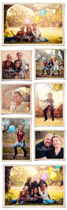outdoor family photography , some cute ideas