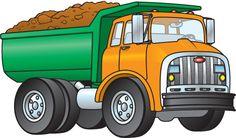 Blue Dump Truck Clipart - Free Clip Art Images