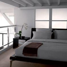 White bedding by Hugo Boss: Bedlinen: Decorating Ideas