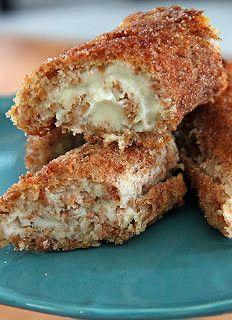 Cinnamon Sugar Cheesecake Roll Ups | by lovebakesgoodcakes