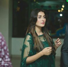 The Most Beautiful Woman Ayeza Khan in Emerald Green Outfit on her daughter Hoorain Birthday! Outfit by Jewelry Styled by Photography by Mahira Khan, Ayeza Khan, Pakistani Models, Pakistani Actress, Pakistani Dress Design, Pakistani Dresses, Pakistani Clothing, Beautiful Girl Image, Most Beautiful Women