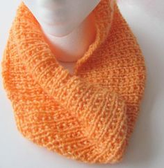 Orange Creamsicle Cowl FREE US Shipping by AllAboutTheButtons, $25.00 USD #zibbet #craftshout #handmadehour