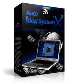 NEW Auto Blog System X  JUST 4.5 USD  Bonus Video