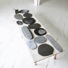 Studio Tour: MAD Studio | Design*Sponge (concrete plates)