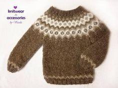Mohair Icelandic Sweater Nordic Sweater Kids Adults Sweater